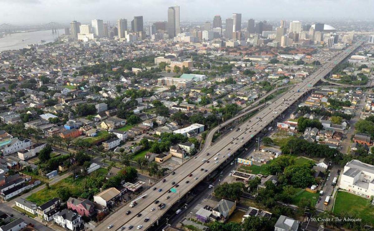 Claiborne Expressway (I-10)  New Orleans, Louisiana