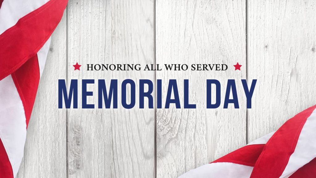 Limited Staff Memorial Day May 27