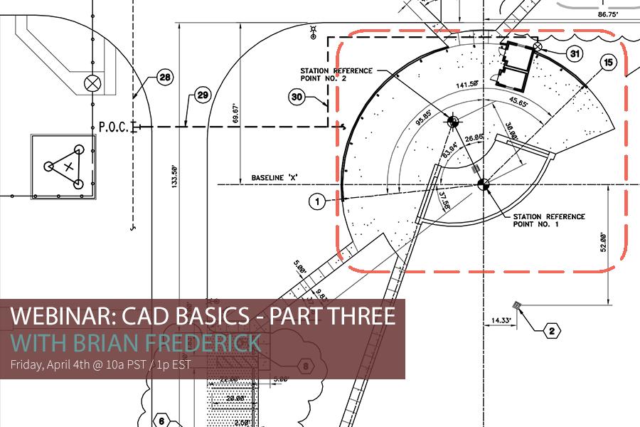 CAD BASICS 3 VIDEO