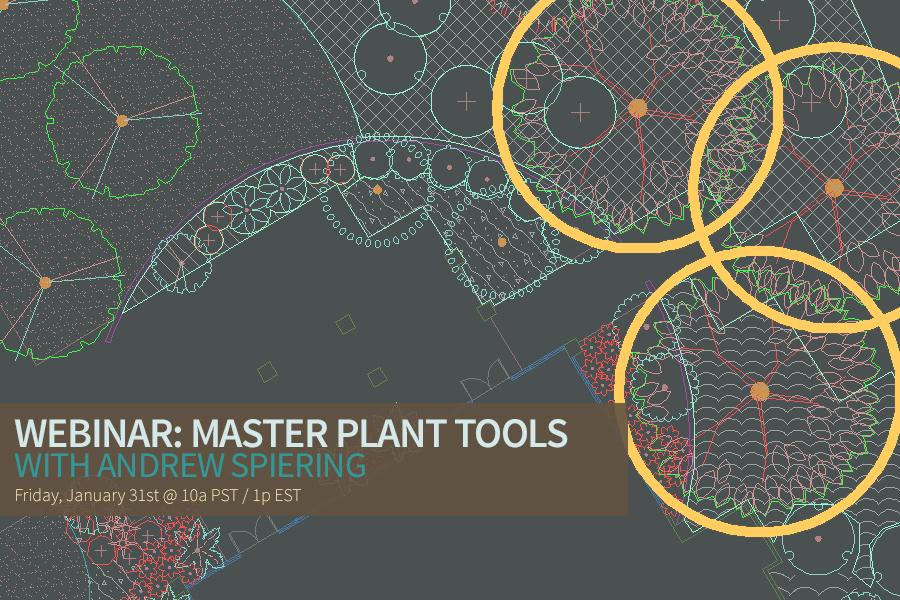 Master Plant Tool Video