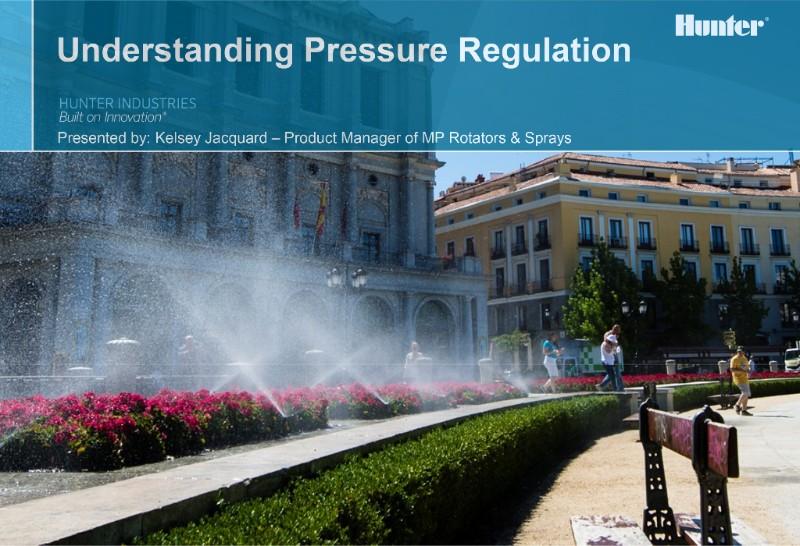Guest Webinar: Understanding Pressure Regulation