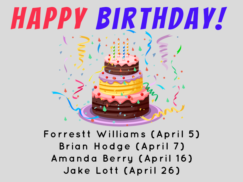 Land F/X April Birthdays