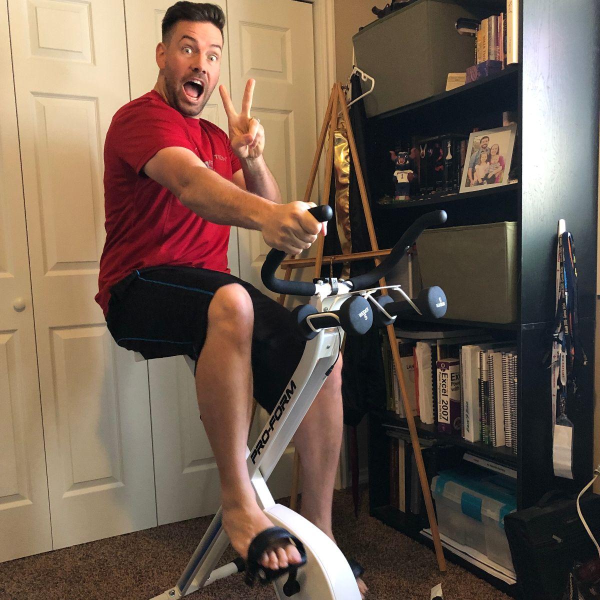 National Bike Month -Jake Lott Bikes to Work