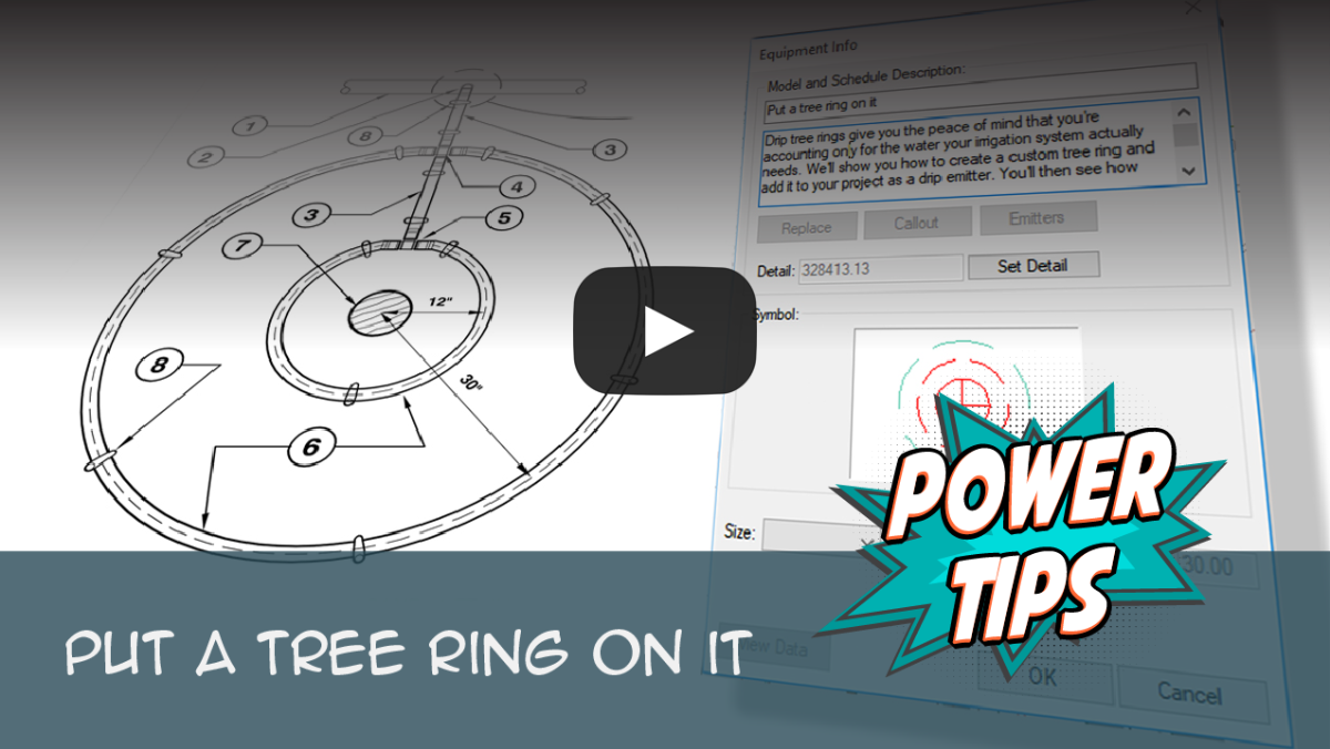 Power Tip: Put a Tree Ring On It