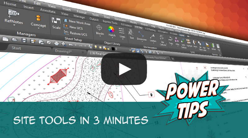 Site Tools in 3 Minutes
