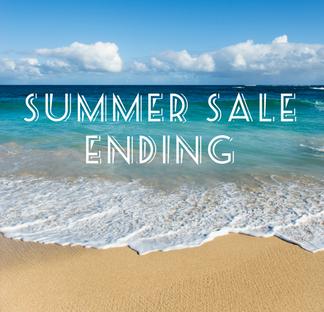 Summer Sale Ending Soon