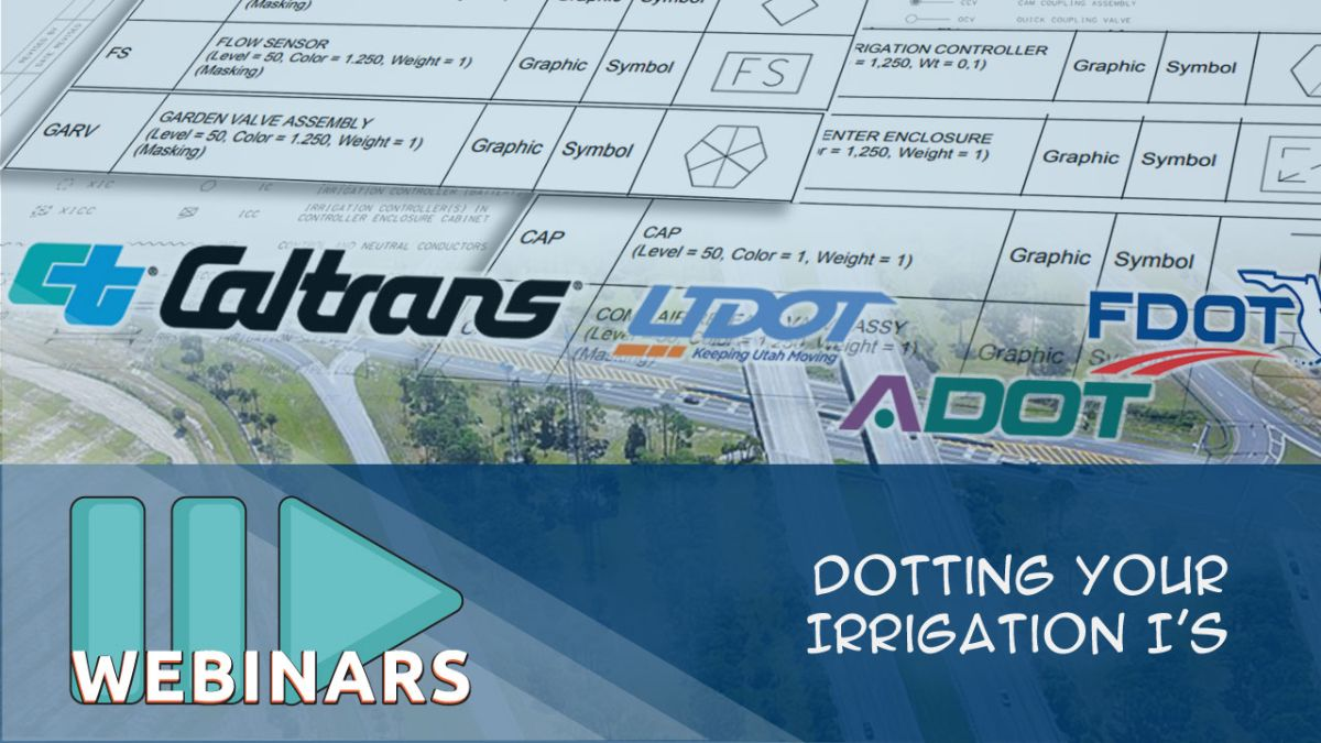 Webinar: Dotting your Irrigation I's with Jake Lott