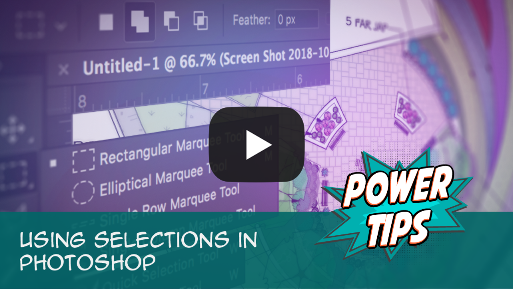 Power Tip: Using Selections in Photoshop