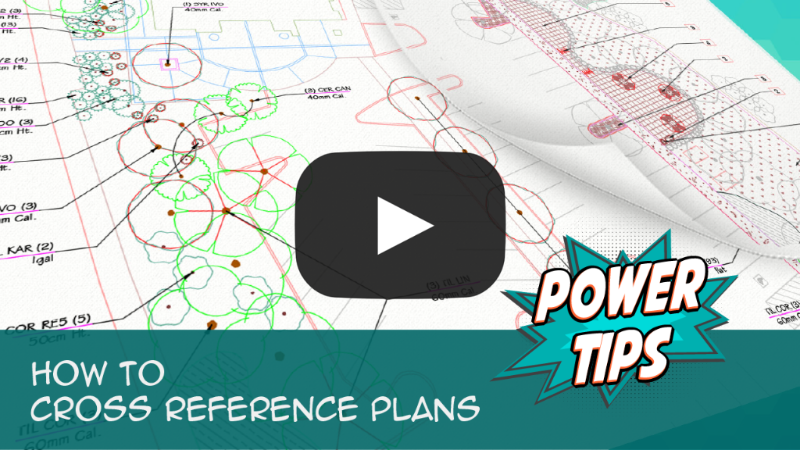 How To Cross Reference Plans