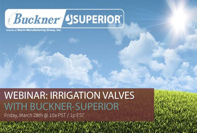Irrigation Valves Webinar