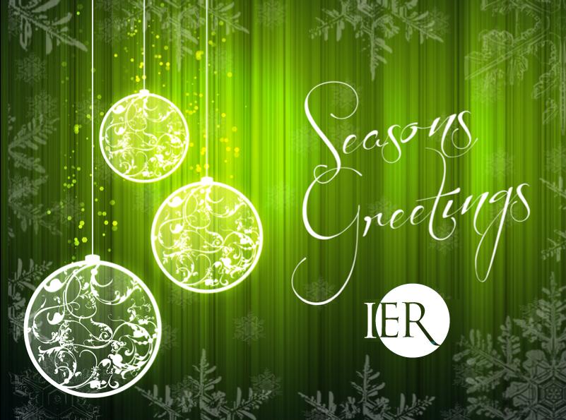 Seasons Greetings from IER