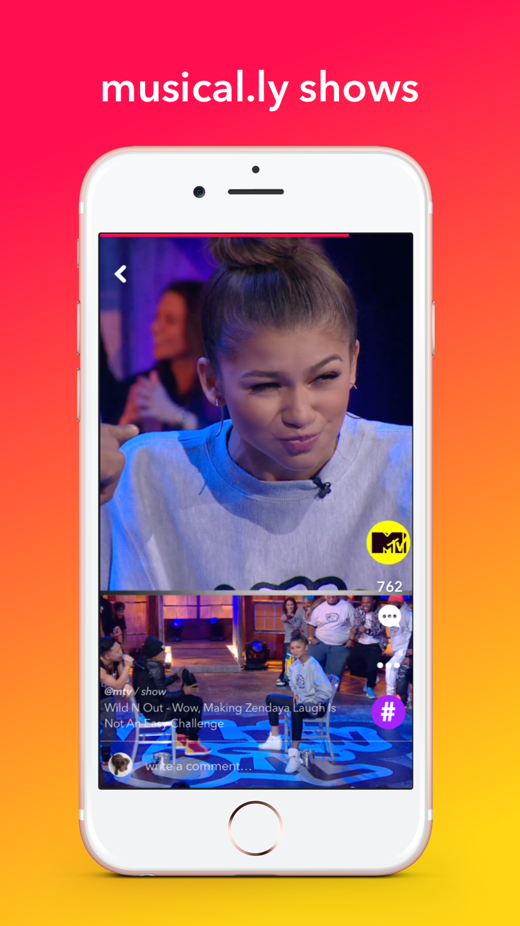 Wild'N'Out ist ein neues MTV Format auf musical.ly (c) musical.ly