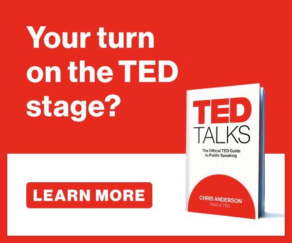 Chris Anderson's TED Talks book