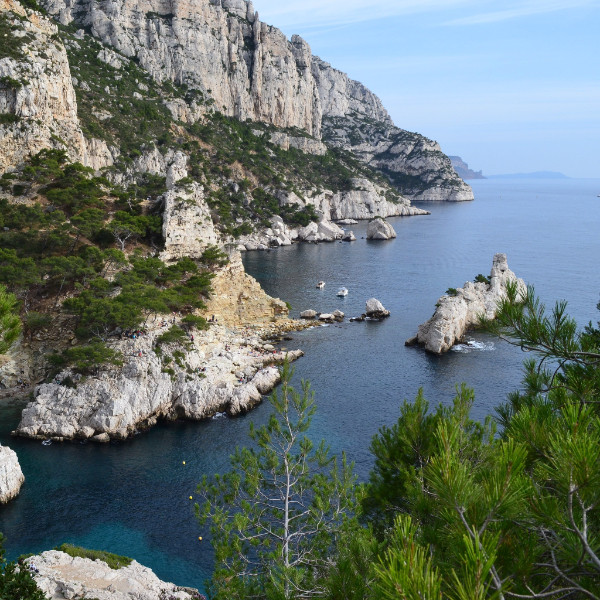 Calanques coast