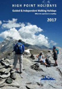 2017 Walking Holiday Brochure