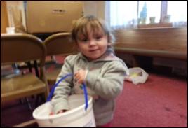 The Lord's Children program to Portage neighborhood kids.
