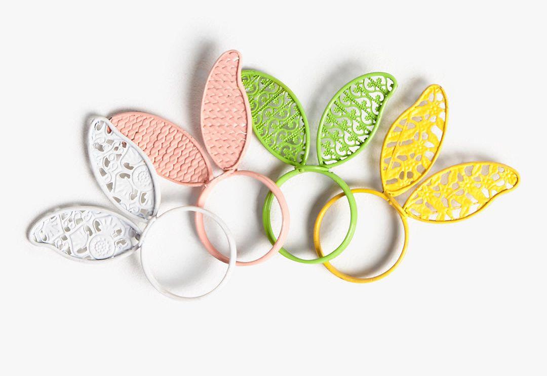DIY Easter decor 2019, napkin ring for easter table