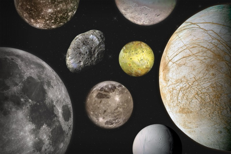 An image of moons