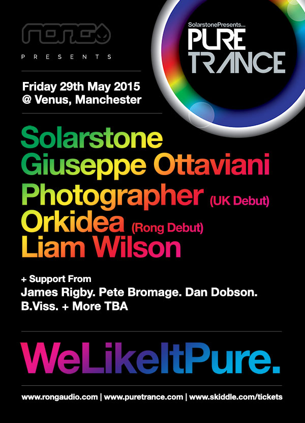 Pure Trance @ Rong, Manchester