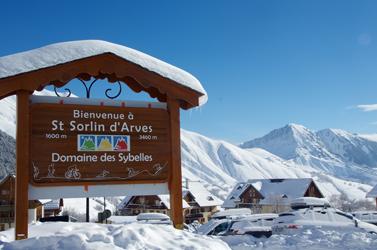 Panneau Saint Sorlin d'Arves