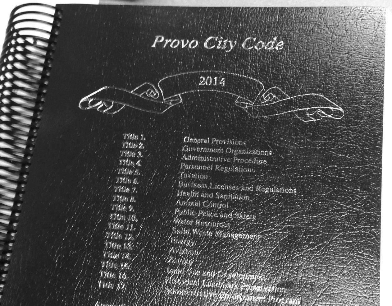 Provo City Code