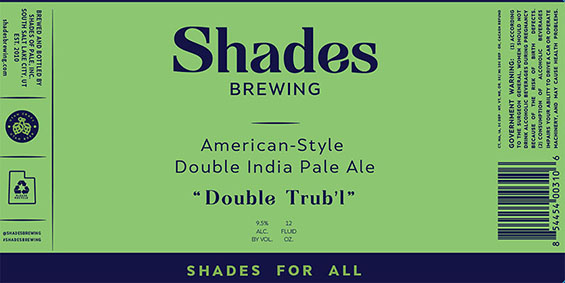 Shades Brewing: New Name, New Branding