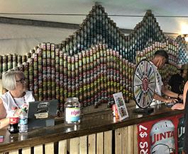 Uinta Brewing at the Utah Arts Festival