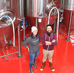 Roosters Brewing in Ogden