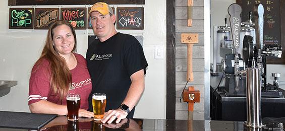 Talisman Brewing | Joann and Dusty Williams