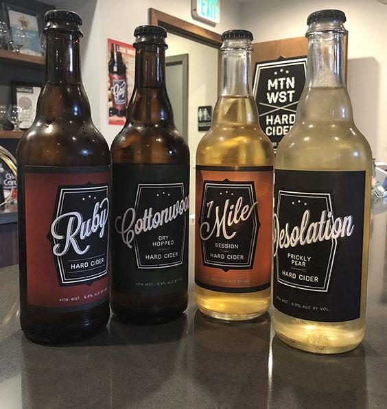 Mountain West Hard Cider Year-Round Lineup
