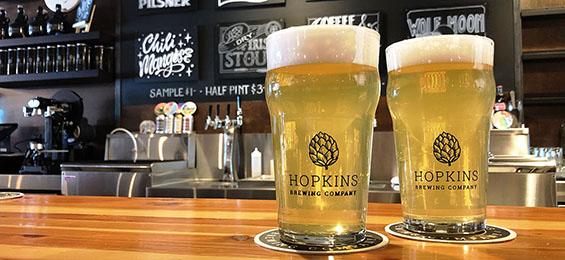 Sugar House Pilsner • Hopkins Brewing Co.