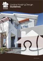 Livable Housing Design Guideline