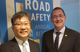 Young Tae Kim welcomes Rob McInerney iRAP