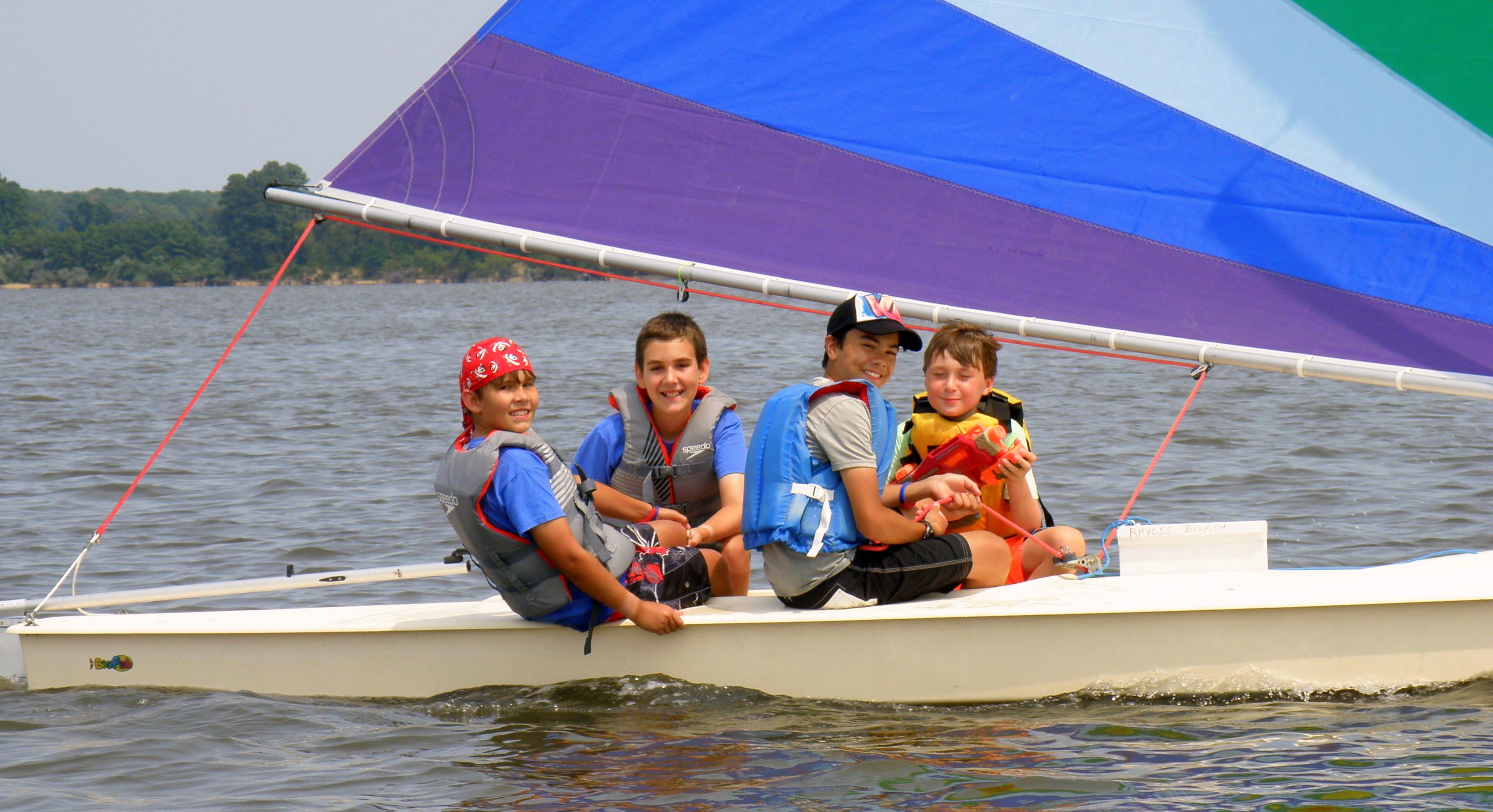 summer sailing rhycss
