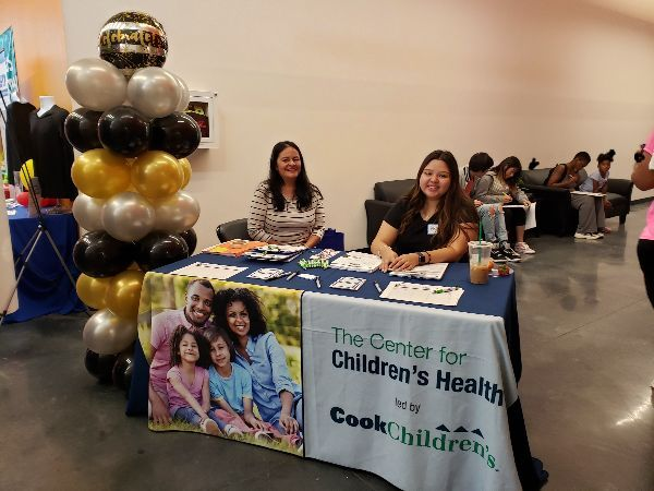 Registration and Greetings provided by Cook Children's