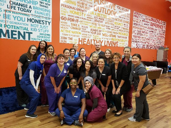 Tarrant County College Dental Hygiene Students