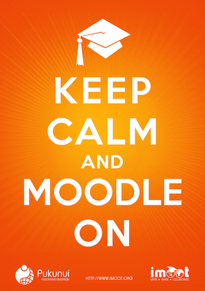 Keep Calm and Moodle On