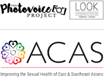 Logos of Photovoices and ACAS
