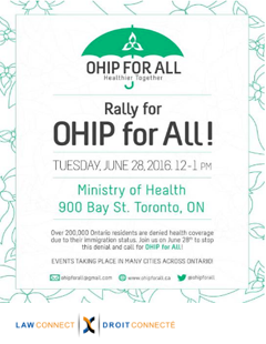 OHIP for All1 Poster