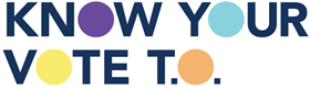 Logo of Know Your Vote T.O.