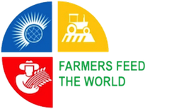 Logo of Farmers Feed the World