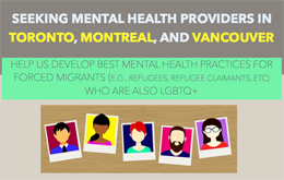 Flyer of Mental Health Providers