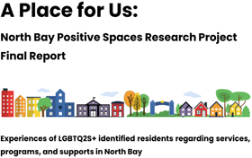 "Banner of ""A place for us"" report"