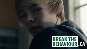 Screenshot of the video campaign