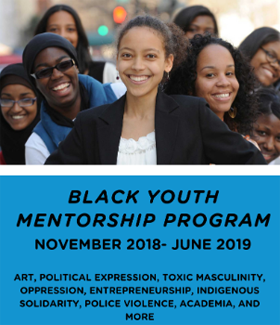 Banner of Black Youth Mentorship Program