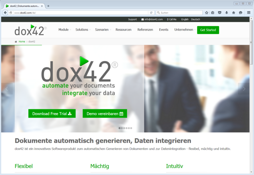 dox42.com - neue Website