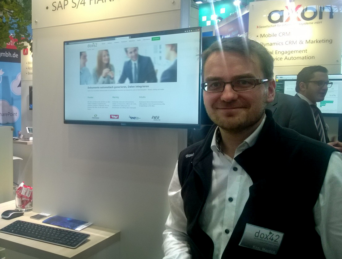 dox42 at CeBIT 2016