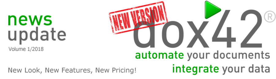 New Look, New Features, New Pricing!