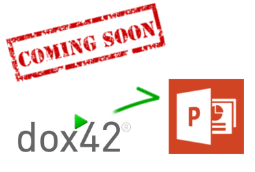Coming Soon: dox42 power in PowerPoint