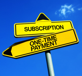 Subscription or One-Time Payment